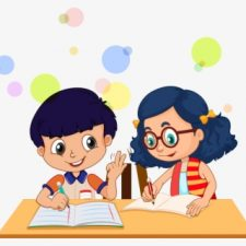 91-910626_transparent-kids-listening-clipart-kids-writing-png
